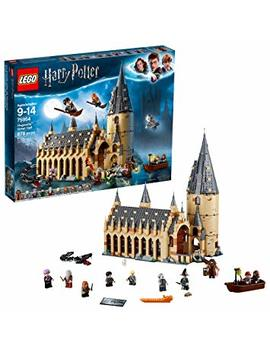 Lego 6212644 75954 Harry Potter Hogwarts Great Hall Building Kit, 878 Pieces by Lego