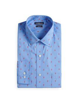 Men's Croft & Barrow® Easy Care Button Down Collar Dress Shirt by Croft & Barrow