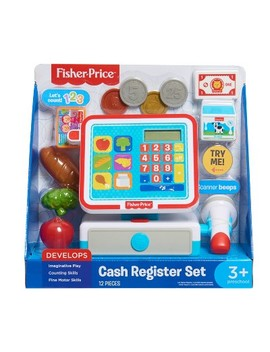 Fisher Price Cash Register Set by Just Play