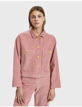 Dori Corduroy Jacket In Intense Pink by Paloma Wool