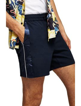 Satin Trim Shorts by Topman