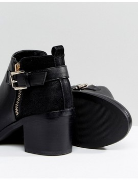 Office Academy Buckle Ankle Boots by Office