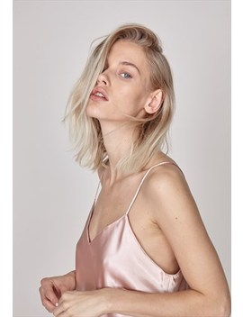 The Sept Satin Dress Peach by The Sept