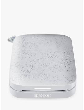 Hp Sprocket 200 Portable Photo Printer, Luna Pearl by Hp
