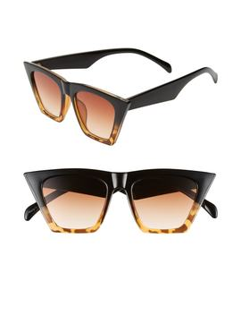 50mm Flat Square Sunglasses by Bp.