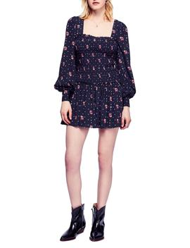 Two Faces Print Minidress by Free People