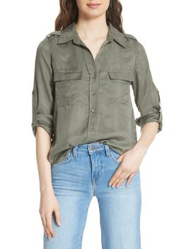 Lunetta Military Shirt by L'agence