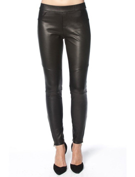 Stretch Leather Leggings by Madonna & Co , Upper East Side