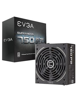 Evga Supernova 750 P2, 80+ Platinum 750 W, Fully Modular Eco Mode, 10 Year Warranty, Includes Free Power On Self Tester, Power Supply 220 P2 0750 X1 by Evga