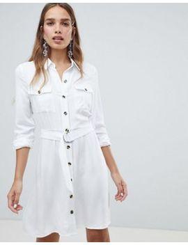 Платье рубашка в стиле милитари New Look by Asos