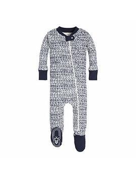 Burt's Bees Baby   Baby Boys' Sleeper Pajamas, Zip Front Non Slip Footed Sleeper P Js, 100 Percents Organic Cotton by Burt27s+Bees+Baby