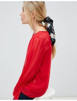 Asos Design Hair Scarf Scrunchie In Floral Print by Asos Design