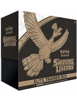 Pokemon Shining Legends Elite Trainer Box Collectible Cards by Pokemon