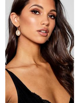 Yasmin Sovereign Hoop Earrings by Boohoo