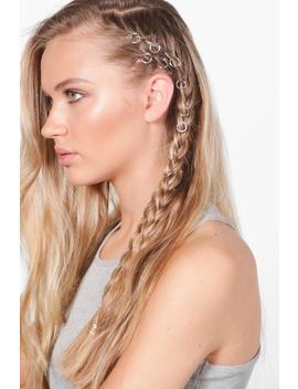 Simple Hair Rings 10 Pack by Boohoo