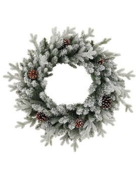 "28"" Christmas Unlit Balsam Fir Pinecones Artificial Wreath   Wondershop™ by Wondershop"