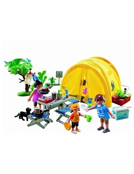 Playmobil Family Camping Trip Playset by Shop This Collection