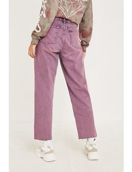 Bdg Pax Overdyed Purple Jeans by Bdg