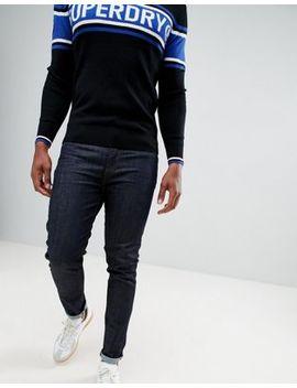 Superdry Slim Fit Tyler Jeans In Dark Rinse by Superdry