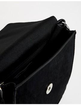 New Look Tortoise Shell Buckle Cross Body Bag In Black by New Look