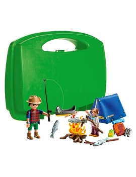 Playmobil Camping Adventure Carry Case by Playmobil