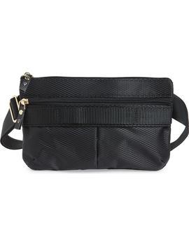 Go Black Expandable Belt Bag by Andi