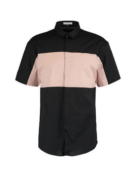 Black & Pink Short Sleeve Shirt by Versace Collection