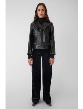 Slightly Boxy Jacket Black by Acne Studios