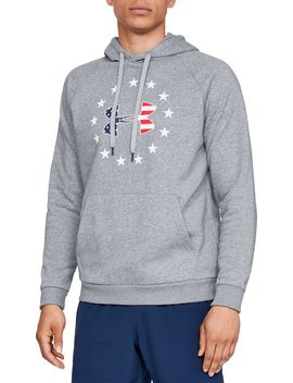 Under Armour Men's Freedom Rival Fleece Hoodie by Under Armour