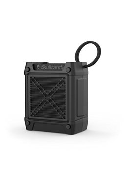 Skullcandy Shrapnel Water Resistant Drop Proof Bluetooth Portable Speaker With On Board Mic, Black by Skullcandy