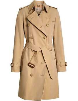 'the Kensington' Heritage Trenchcoat by Burberry