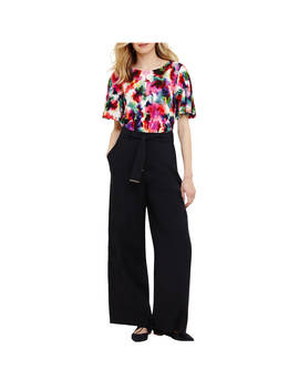 Phase Eight Trixie Topstitch Peg Trousers, Navy by Phase Eight