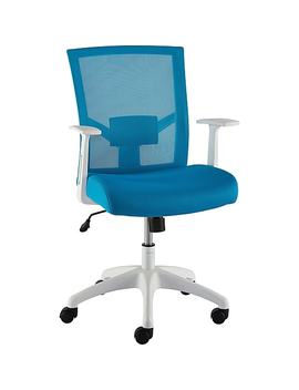 Staples Ardfield Mesh Task Chair, Blue (50837) by Staples