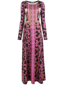 Nellie Printed Dress by Temperley London