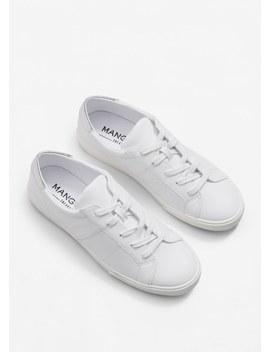 Contrast Appliqué Sneakers by Mango