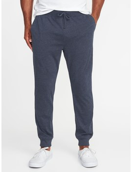 Soft Washed Jersey Knit Joggers For Men by Old Navy