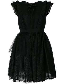 Ruffled Lace Flared Dress by Msgm