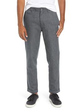 Bixi Slim Cotton Twill Trousers by Life/After/Denim