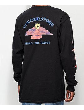 Volcom Dooby Tron Black Long Sleeve T Shirt by Volcom