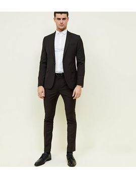 Brown Check Tapered Skinny Trousers by New Look