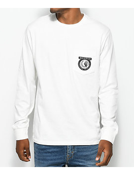 Brixton Native Off White Long Sleeve T Shirt by Brixton