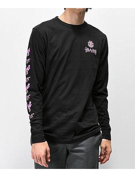Element X Bam X Him Tattoo Black Long Sleeve T Shirt by Element