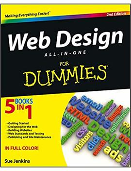 Web Design All In One For Dummies by Sue Jenkins