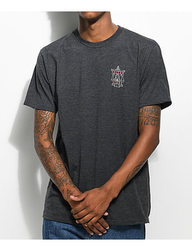 Volcom Puzzle Charcoal T Shirt by Volcom