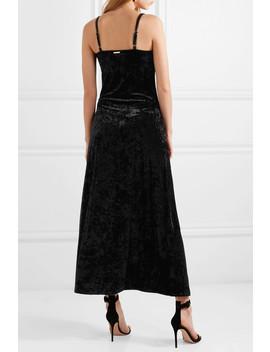 Crushed Velvet Maxi Dress by Michael Michael Kors