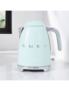 Smeg Pastel Green Retro Electric Kettle by Crate&Barrel