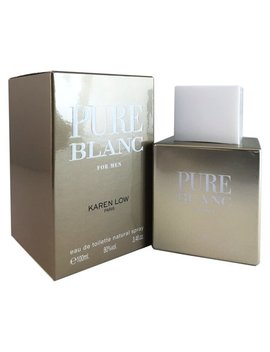 Pure Blanc For Men By Karen Low 3.4 Oz Edt Spray by Karen Low