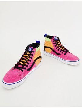 Vans Sk8 Hi Mte Sneakers In Pink Vn0 A3 Dq5 Uq61 by Vans