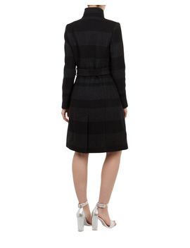 Narrla Stripe Long Wrap Coat by Ted Baker