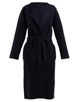 Wool Blend Belted Cardigan by Matches Fashion